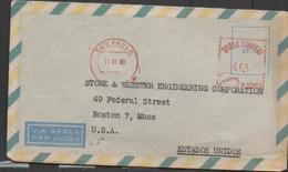3126         Carta Aérea   Brasil Sao Paulo 1960 - Brasil