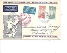 Danemark ( Letttre En Premier Vol De 1935 De Nakskov Vers Copenhague à Voir) - 1913-47 (Christian X)