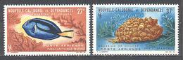 Nouvelle Caledonie: Yvert N° A 77/78* - Luftpost