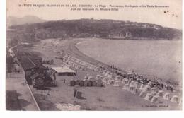 Saint Jean De Luz - Ciboure - La Plage - Panorama,Bordagain Et Les Trois Couronnes Vue Des Terrasses Du Modern Hôtel - Saint Jean De Luz