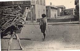 DJIBOUTI SOMALIS ET SON CHAMEAU - Dschibuti