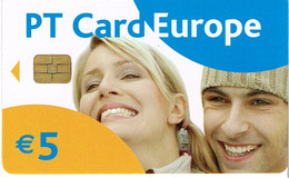 PHONECARDS-- PORTUGAL-CHIP-PT CARD 5€-EUROPE  ISSUE 50.000  06.04 - Portugal