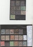 LOT DE TIMBRES DE France (ex-colonies  Sénégal (1887-1944) Oblitérés /* NR VOIR SUR PAPIER AVEC LES TIMBRES COTE 488.35e - Sénégal (1887-1944)