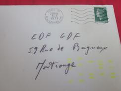 """Tirets Fluo Indexation(Code PLM)Apposé Paris Gare PLM=>Montrouge>Marque à Sec""""15""""(poste Codeur)Indexatrice Hotchkiss-Bra - Variedades Y Curiosidades"""