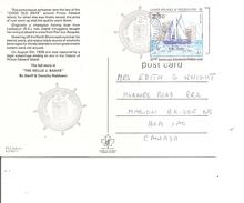 Saint-Pierre Et Miquelon -Voiliers ( CP De 1988 De Saint-Pierre Vers Le Canada à Voir) - Lettres & Documents