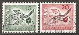 BRD 1965 // Michel 483/484 O - BRD