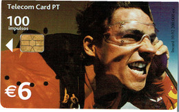 PHONECARDS-- PORTUGAL-CHIP-TELECOM CARD 100-IMPULSOS ALLDIFFERNTS ( CHIP , ISSUE DATE )  10.02  200.000 - Portugal