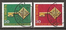 BRD 1968 // Michel 559/560 O - BRD