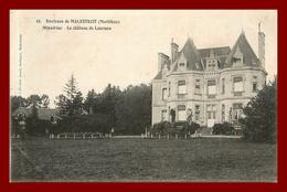 Dept 56 * Malestroit * Le Chateau De Lourmes     ( Scan Recto Et Verso ) - Malestroit