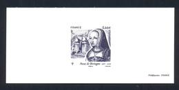 Gravure - Anne De Bretagne - Documents De La Poste