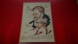 ILLUSTRATEUR ROBERTY DESSIN ORIGINAL POLITIQUE N°63 JEAN JAURES - Autres Illustrateurs