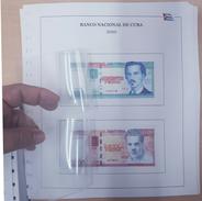 ALBUM DE BILLETES DE CUBA REPÚBLICA POR AÑOS 1959-2016. BANKNOTES. - Cuba