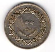 Lybie/Lybia: 100 Dirhams 1979/ 1399 AH - Libye