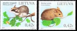 Lithuania. 2017 The Red Book Of Lithuania. Rodents. - Lithuania