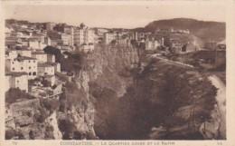 Algeria Cosntantine Le Quartier Araba Et Le Ravin - Constantine