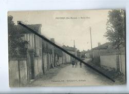 CPA - Perthes  - Petite Rue - Autres Communes
