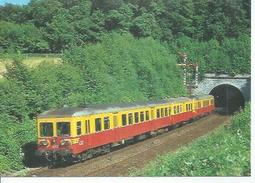 1006 - AUTORAIL 4312 + REMORQUE TYPE 732 + 4310 - TUNNEL VONECHE 30-7-1983 ( TRAIN - LOCOMOTIVE ) - Non Classés