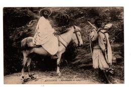 ETHIOPIE . ABYSSINIE . MISSIONNAIRE EN VOYAGE - Réf. N°1348 - - Ethiopie