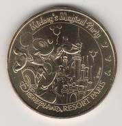 77777-18-MDP2009 - DISNEYLAND PARIS / MEDAILLE MONNAIE DE PARIS / JETON / TOKEN / DISNEY / MICKEY'S MAGICAL PARTY - Monnaie De Paris