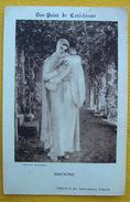 Vers 1930 IMAGE RELIGIEUSE / MADONE VIERGE A L'ENFANT D'après Dagnan-Bouveret  / HOLY CARD / SANTINO - Santini