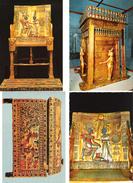 Ägypten - Egypt - 4 Cards - Cairo - Kairo - Ägyptisches Museum - Tut Ankh Amun - Museen