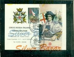 CROCE ROSSA-CRISTOFORO COLOMBO-GENOVA-CALENDARIETTI- MARCOFILIA- CAMPIONATI EUROPEI INDOOR ATLETICA - Croix-Rouge