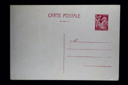 France Carte Postale Iris  Type  G1 1944  Fr 2,40 - Biglietto Postale