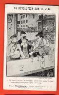 IBK-16  La Révolution Sur Le Zinc. Camarades, Supprimez La Révolution. Cachet 1924. Editeur La Fraternité Lyon - Satirical