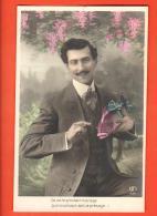 IBK-22 De Votre Prochain Mariage, Que Ce Poisson Soit Le Présage. Dandy Et Poisson. Cachet 1908 - April Fool's Day