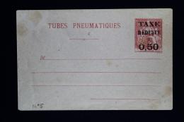 France  Enveloppe Pneu Chaplain  60 C Avec Taxe Reduite 0,50  . Type  G2 - Entiers Postaux