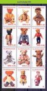 Nds1308 *SPECIAL* SPEELGOED POPPEN TEDDYBEREN TEDDYBEARS TEDDYBÄREN DOLLS PUPPEN SURINAME 2005 PF/MNH - Puppen
