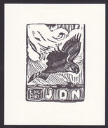 Ex Libris JDN (oiseau Bird, Vogel) - Ex-libris