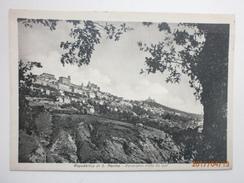 Postcard Repubblica Di S Marino Panorama Visto Da Sud  By Savoretti Of San Marino My Ref B2999 - San Marino