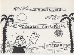 Illustrateur FILIPANDRE - 3ème Rencontre Cartophile De HYERES Du 16 Au 21 Juin 1984 - 83/100 - Illustrateurs & Photographes