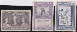 Philippines      .    Yvert     3  Stamps       .       **      .         MNH   .     /    .     Postfris - Filippijnen