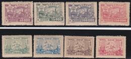 Russia      .    8  Stamps          .       *       .         Mint-hinged   .     /    .     Ongebruikt - 1923-1991 USSR