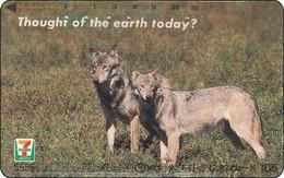Japan  Phonecard Wolf - Jungle