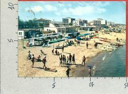 CARTOLINA VG ITALIA - MISANO (RN) - Scorcio Della Spiaggia - 10 X 15 - ANN. 1965 - Rimini