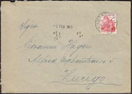 Switzerland Lugano  1. 2. 1945 - Suisse