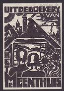 Ex-libris Uit De Boek Van Meenthuis - Ex-libris