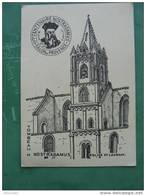 MICHAEL DE NOSTRADAMUS SALON DE PROVENCE 4EME CENTENAIRE 1566/1966 BELLE FLAMME - Filosofia & Pensatori