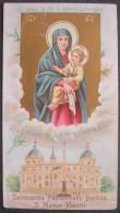 IMAGE PIEUSE (chomo Vers 1900 ): / HOLY CARD / SANTINO SS . IMAGO B M V BASILICA LIBERIANA - RICORDO ANNO SANTO - Santini