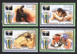 Aitutaki Olympic Games Sydney 4v SG#712/15 SC#531 CV£8
