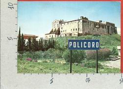 CARTOLINA VG ITALIA - POLICORO (MT) - Il Castello - 10 X 15 - ANN. 1979 MALATTIE DIGESTIVE - Matera