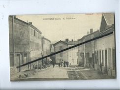 CPA  Rétrécit   - Noiretable   - (Loire) - La Grande Rue - Noiretable