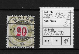 NACHPORTOMARKEN → SBK-19Gc Type2, USTER 2.V.10 - Portomarken
