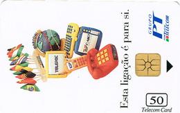 PHONECARDS-- PORTUGAL-CHIP--50 U--GRUPO PT - Portugal