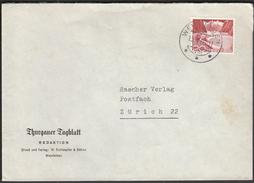 Switzerland Weinfelden  13. 5. 1960 / Newspapers / Industries / Thurgauer Tagblatt - Factories & Industries