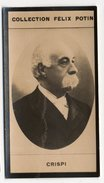Collection Felix Potin - 1898 - REAL PHOTO - Crispi, Homme D'´État Italien (Italia) - Félix Potin