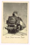 Frohe Fahrt Ins Neue Jahr - Trains